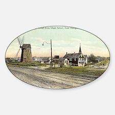 East Hampton - Pantigo Road postcar Sticker (Oval)