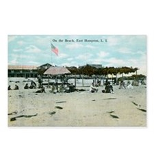 East Hampton beach vintag Postcards (Package of 8)