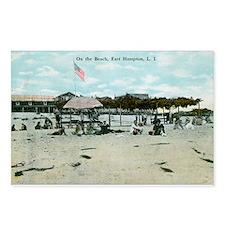 East Hampton beach vintag Postcards (Package of 8)