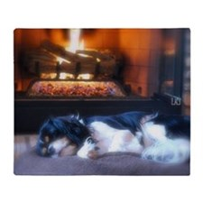 Cheyenne_fire Throw Blanket