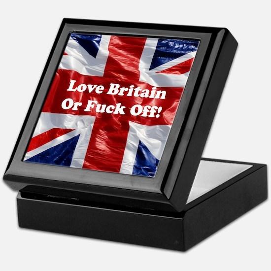 Love Britain Keepsake Box