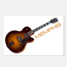 Memphis Guitar Postcards (Package of 8)