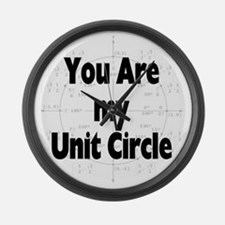 2-U r my unit circle Large Wall Clock