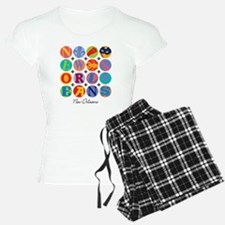New Orleans Themes Pajamas