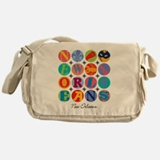 New Orleans Themes Messenger Bag