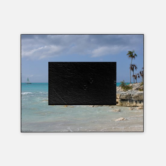 Turks and Caicos Islands Picture Frame