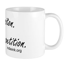 Composition Not Competition button Mug