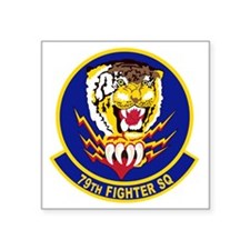 "79th_fighter_sq Square Sticker 3"" x 3"""