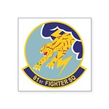 "81_fs_fighter Square Sticker 3"" x 3"""