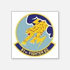"""81_fs_fighter Square Sticker 3"""" x 3"""""""