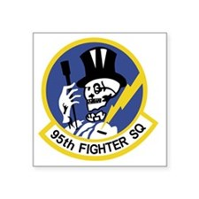 "95th_fs_patch Square Sticker 3"" x 3"""