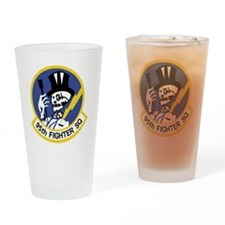 95th_fs_patch Drinking Glass