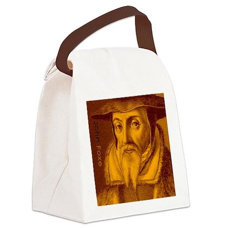 Coaster_Heads_JohnFoxe Canvas Lunch Bag