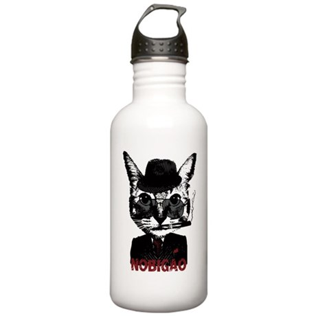 Cat Gangster Stainless Water Bottle 1.0L