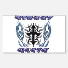 Street Elite Rectangle Decal