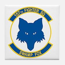 157_fighter_SWAMP_FOX Tile Coaster