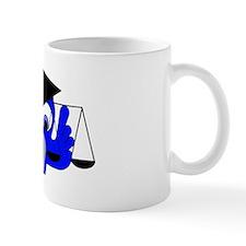 I FOUGHT THE LAW Small Small Mug