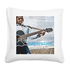 2-poster_sharde Square Canvas Pillow