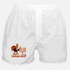 Happy Thanksgivukkah Boxer Shorts