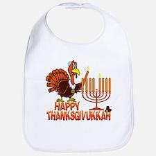 Happy Thanksgivukkah Bib