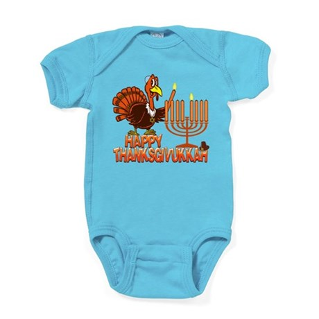 Happy Thanksgivukkah Baby Bodysuit