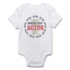 World's Best Actor Infant Bodysuit