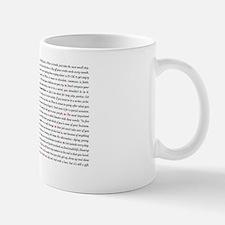 All50_heart_11x17 Small Small Mug