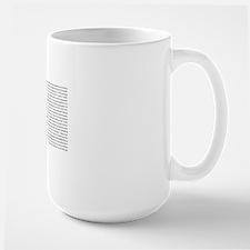 All50_heart_11x17 Large Mug