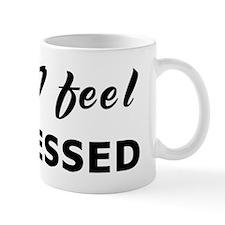 Today I feel distressed Mug