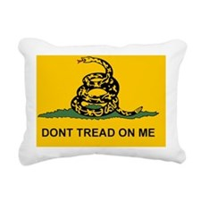 Flat Dont Tread Flag sti Rectangular Canvas Pillow