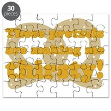 These Pretzels Are Making Me Thirsty! Puzzle