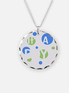circles_itsaboy_white Necklace