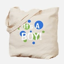 circles_itsaboy_white Tote Bag