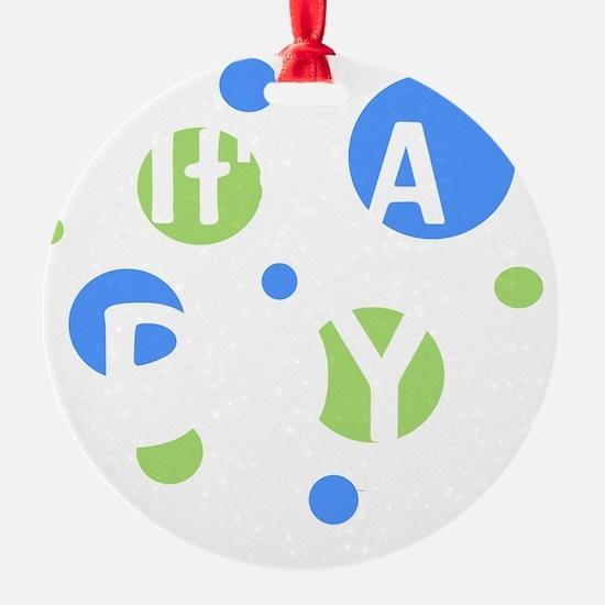 circles_itsaboy_white Ornament