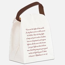 StJohnQuote1 Canvas Lunch Bag