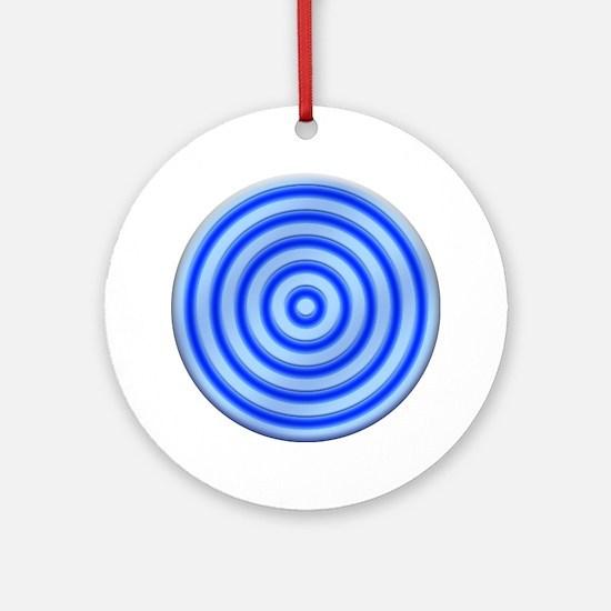 IDDisk02 Round Ornament