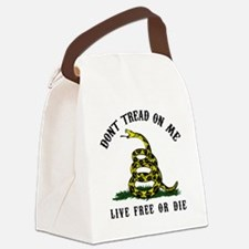 Dont Tread -wh Canvas Lunch Bag