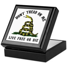 Dont Tread -wh Keepsake Box