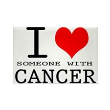 2-I Love Cancer copy Rectangle Magnet