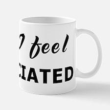 Today I feel dissociated Mug