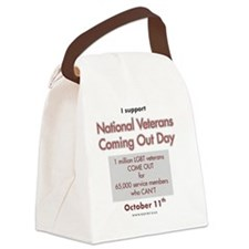 new-NCVOD_support Canvas Lunch Bag