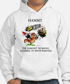Hardest Working Squirrel In Show Hoodie
