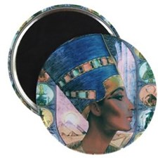 7-Nefertiti Magnet