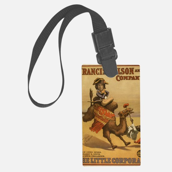 2-1898 The Little Corporal Egypt Large Luggage Tag