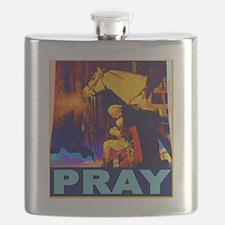 2-GW Praying Flask