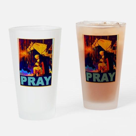 2-GW Praying Drinking Glass
