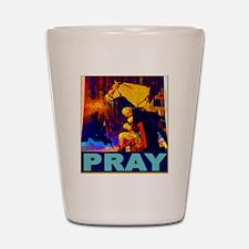 2-GW Praying Shot Glass