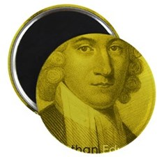 Coaster_Heads_JonathanEdwards Magnet