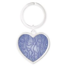 bluelace_PILLOW Heart Keychain