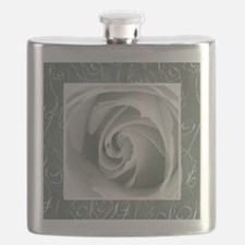 Pewter+Grey_lace_Rose_PILLOW Flask